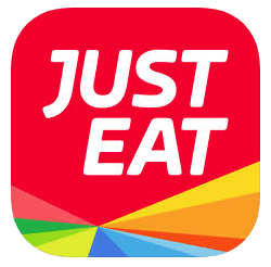 An Example of a Just Eat Food Mobile App Logo