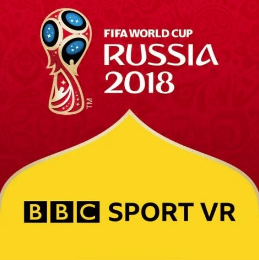 BBC Sports VR Fifa Football Gaming App for the WorldCup