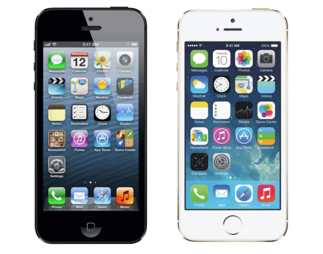 iPhone 5 and iPhone 5S Mobile Devices