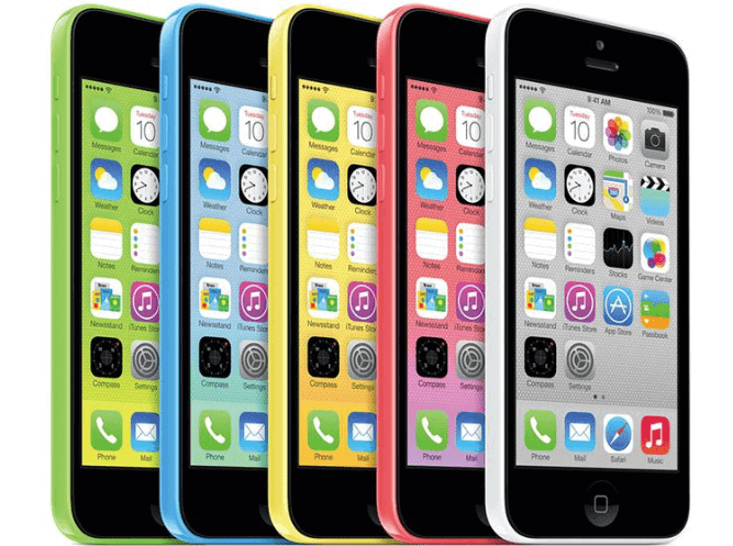 iPhone 5C Mobile Phone Devices